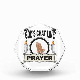 Gebet ist Gott-Chatlinie Auszeichnung