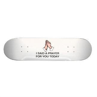 Gebet übergibt Skateboard Skateboard Bretter
