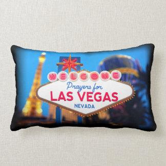 Gebete für Las Vegas-Kissen Lendenkissen