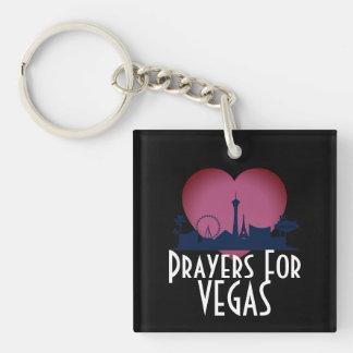 Gebete für Las Vegas Schlüsselanhänger