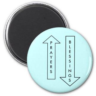 Gebete u. Segen - Magnet Runder Magnet 5,7 Cm