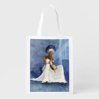 Gebete von a-Frauen Wiederverwendbare Einkaufstasche