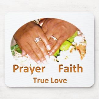 Gebets-Glauben-wahre Liebe Mousepads