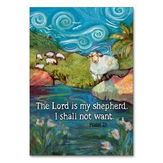 Gebets-Karte des Psalm-23 Karte