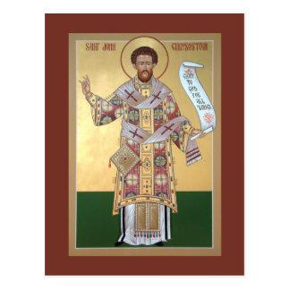 Gebets-Karte Johannes Chrysostom Postkarte
