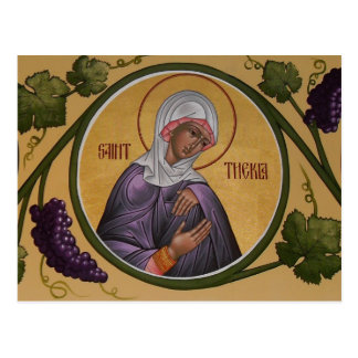 Gebets-Karte St. Thekla Postkarte