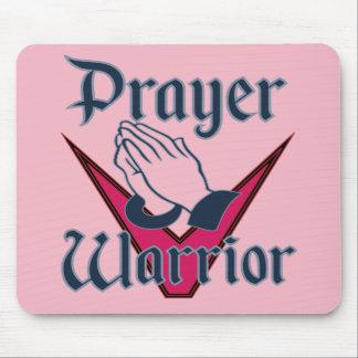 Gebets-Kriegers-Mausunterlage für Leute, die beten Mousepad
