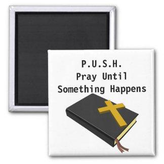Gebetsinspiration STOSS Quadratischer Magnet
