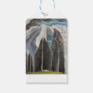 Gebirgsbäume Geschenkanhänger