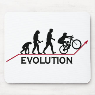 Gebirgsfahrrad-Evolution Mousepad