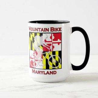 Gebirgsfahrrad-Maryland-Kaffee-Tasse Tasse