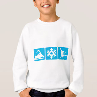 GEBIRGSflocke Ski Sweatshirt
