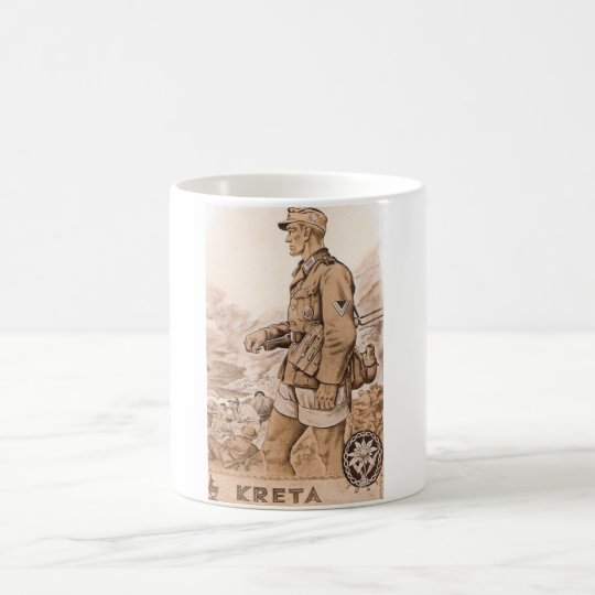 Gebirgsjäger Kreta Kaffeetasse
