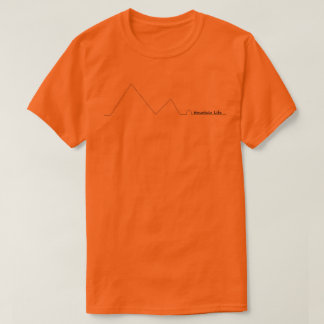 Gebirgsleben-T-Stück T-Shirt