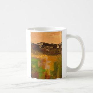 Gebirgslicht Kaffeetasse