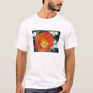 Gebirgsmohnblume, T-Shirt