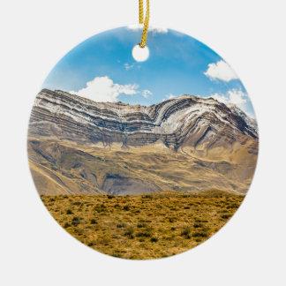 GebirgsPatagonia Argentinien Snowy Anden Keramik Ornament