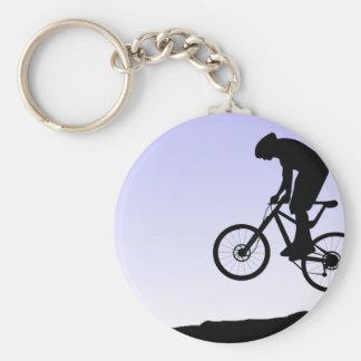Gebirgsradfahren Schlüsselanhänger