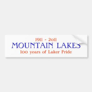 GEBIRGSseen, 100 Jahre von Laker Pride, 1911… Autoaufkleber