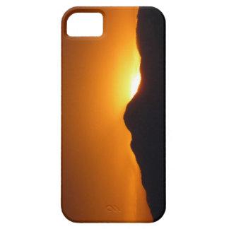 Gebirgssonnenuntergang-Telefon-Kasten iPhone 5 Etui