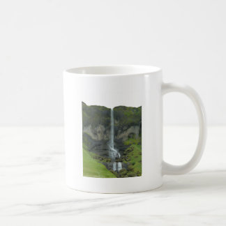 Gebirgsstrom in Island Kaffeetasse