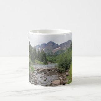 Gebirgsstrom - kastanienbraune Bell Kaffeetasse
