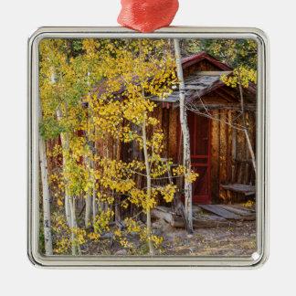 Gebirgsunterschlupf Silbernes Ornament