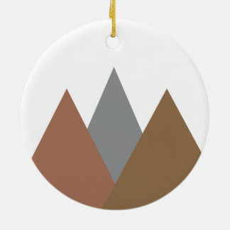 Gebirgsverzierung Keramik Ornament