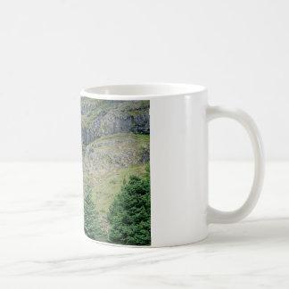Gebirgswasserfall-Tasse Kaffeetasse