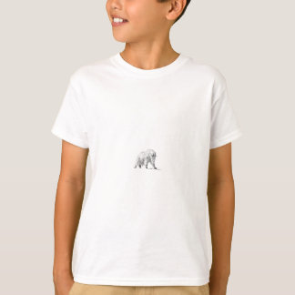 Gebirgsziegen-Logo (Linie Kunst) T-Shirt