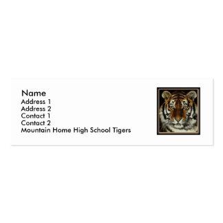 GebirgsZuhause-Tiger-Kontakt-Karte Jumbo-Visitenkarten