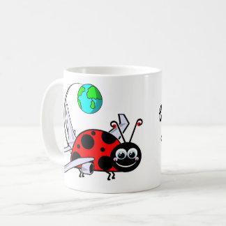 Gebissen durch die Reise-Wanze - Kaffeetasse