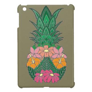 Geblühte Ananas iPad Mini Hülle