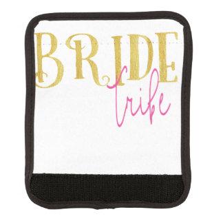 Gebogenes Braut-Stamm-Rosa und Gold Gepäck Markierung