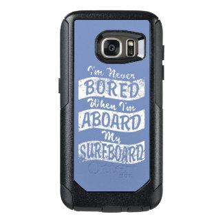 GEBOHRT nie AN BORD meines SURFBRETTES (weiß) OtterBox Samsung Galaxy S7 Hülle