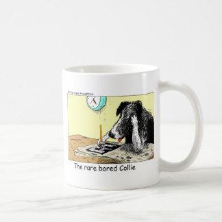 Gebohrte Grenzcollie-lustige Kaffeetasse