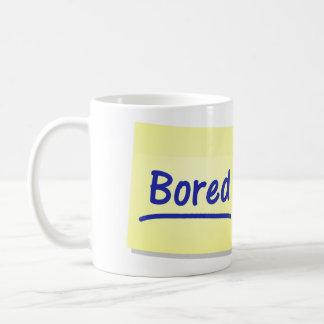 Gebohrte Post-Itkaffee-Tee-Tasse - lustiges Tasse