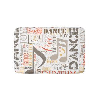 Geboren, Brown ID277 zu tanzen Badematte