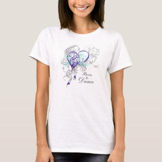 Geboren, den Babydoll-T - Shirt zu tanzen