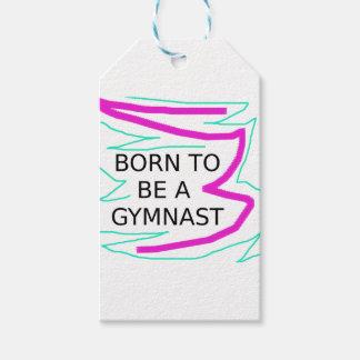 Geboren, ein Gymnast zu sein Geschenkanhänger