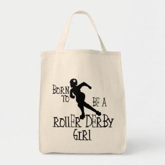 Geboren, ein Rollen-Derby-Mädchen zu sein Tragetasche