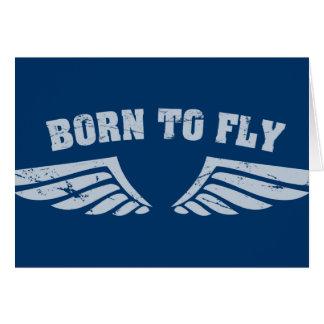 Geboren, Flügel zu fliegen Karten