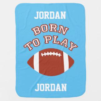 Geboren, Fußball zu spielen Kinderwagendecke