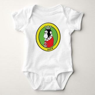 Geboren im Jahr des friedlichen liebevollen Affen Baby Strampler