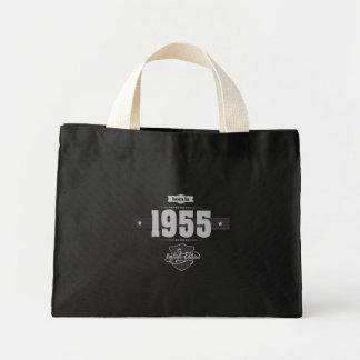 Geboren im Jahre 1955 (Light&Darkgrey) Mini Stoffbeutel