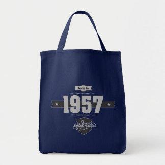 Geboren im Jahre 1957 (Light&Darkgrey) Tragetasche