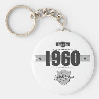 Geboren im Jahre 1960 (Dark&Lightgrey) Schlüsselanhänger