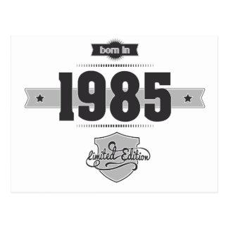 Geboren im Jahre 1985 (Dark&Lightgrey) Postkarte