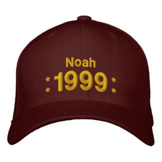 Geboren im Jahre 1999 oder irgendein Jahr-16. Bestickte Baseballkappe
