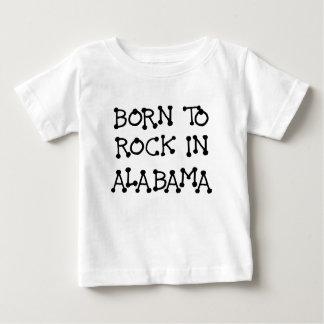 GEBOREN, IN ALABAMA.png ZU SCHAUKELN Baby T-shirt
